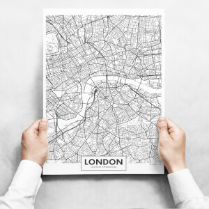 Obrazy - Map Of London