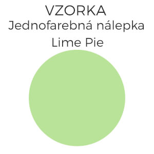 Vzorka 495- Lime pie